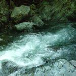仙見川、壺滝の写真