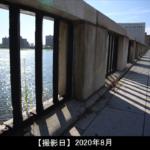 萬代橋の橋の上からの写真