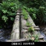 木の橋の写真