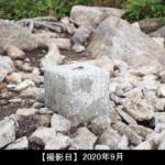 飯士山と赤とんぼの写真