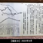 明神峠の看板の写真