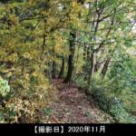 猿毛岳の登山道写真