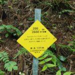 弥彦山 裏参道コース看板002