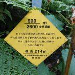 弥彦山 裏参道コース看板004