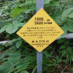 弥彦山 裏参道コース看板006