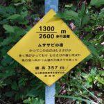 弥彦山 裏参道コース看板009