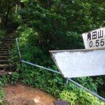角田山稲島登山道