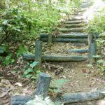 角田山湯の腰 標識